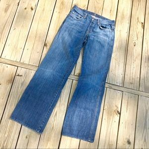 7 for All Mankind relaxed a pocket men's jeans